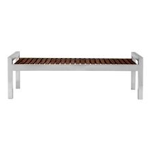 Wood Slate Bench -5', 82212