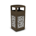 Dome Lid Waste Receptacle with Intermingle Design - 42 Gallon, 82381