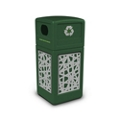 Decal Recycling Receptacle with Intermingle Design - 42 Gallon, 82389