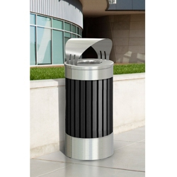 25 Gallon Canopy Top Waste Receptacle, 87191