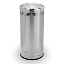 Round Flip Door Waste Receptacle - 15 Gallon, 87255