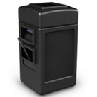 28 Gallon Waste Receptacle with Windshield Wash Station, 87498