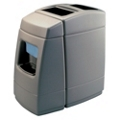 55 Gallon Waste Receptacle with Windshield Wash Station, 87502