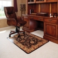 "45"" x 53"" Vinyl Chairmat for Carpet Floors - Meridian Design, 54265"