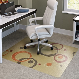 "Contemporary Chair Mat - 45"" x 53"", 54936"