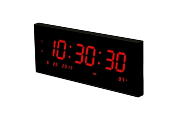 Multi-Alarm LED Clock with Temp and Calendar, 82758