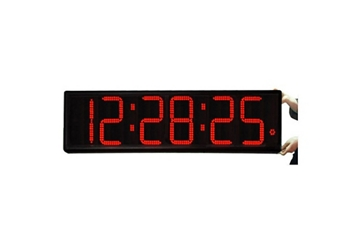"""Jumbo LED Timer Clock with 9"""" Numerals, 82761"""