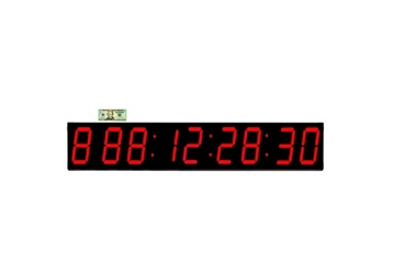 """Event LED Clock 7"""" Timer and Stopwatch, 82762"""