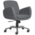 Retro Mid Back Fabric Task Chair, 75686