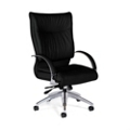Leather High Back Chair, 56876