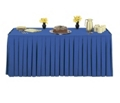 "Box Style Table Skirting - 144"" x 29"", 80423"