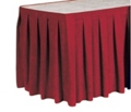 "Box Style Table Skirting - 192"" x 29"", 80426"