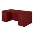 "Wood Veneer Executive Desk- 72""W x 36""D, 13613"