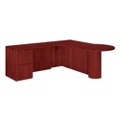 "Peninsula L Desk with Left Return - 72""W x 84""D, 13616"