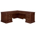 "Traditional Veneer L Desk with Right Return  66""W x 78""D, 13703"