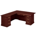 Traditional Executive L-Desk with Left Return, 14190