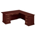 Traditional Executive L-Desk with Right Return, 14191