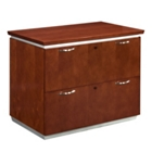 "36""W Two Drawer Contemporary Lateral File, 30853"