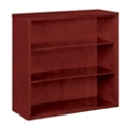 "36.5""H 3 Shelf Veneer Bookcase, 36166"
