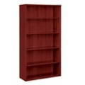 "66""H 5 Shelf Veneer Bookcase, 36167"