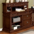 "Traditional Veneer Compact Computer Credenza - 48""W x 24""D, 36198"
