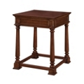 "Traditional Veneer Square End Table - 24""W x 24""D, 41692"