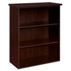 Mocha Three Shelf Open Bookcase, CD07121