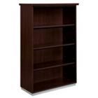 Mocha Four Shelf Open Bookcase, CD07122