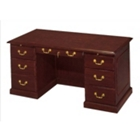 "Traditional Executive Desk - 60"" x 30"", 10032"