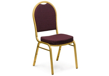 Fabric Stack Chair with Dome Back, 51504