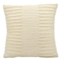 "kathy ireland by Nourison Pearl Striped Rectangular Pillow - 16"" x 16"", 82256"