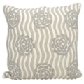 "kathy ireland by Nourison Rose Pattern Square Pillow - 20"" x 20"", 82261"