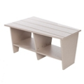 "Angular Trapezoidal Coffee Table - 40""W, 82113"