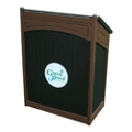"Arch Design Lectern with Cabinet Storage - 51""H, 82130"