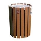 Recycled Plastic Outdoor Trash Bin - 44 Gallon, CD08649