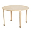 """Child-Sized Round Bentwood Play Table - 30""""DIA x 20""""H, 41834"""
