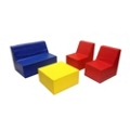 Child-Sized Soft Seating - Four Piece Set, 82083