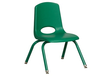 "Stack Chair with Matching Leg 12""H Seat, 51618"