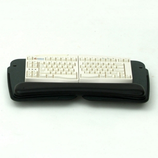 Sit Stand Adjustable Keyboard Tray and Arm with Mouse Platforms, 82121
