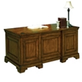 "Double Pedestal Executive Desk - 66""W, 14244"