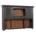 "Two Tone Hutch with Reversible Door Panels - 66""W, 14256"
