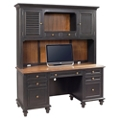 "Two Tone Credenza and Hutch - 68""W, 14264"