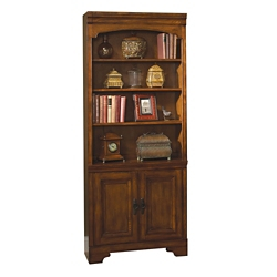 "Six Shelf Doored Bookcase - 79""H, 32291"