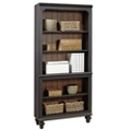 """Two Tone Five Shelf Bookcase - 32""""W, 32294"""