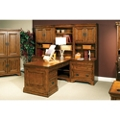 Modular Partner Desk with Storage Wall, 86280