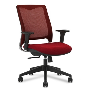 Knit Back Fabric Task Chair, 52371