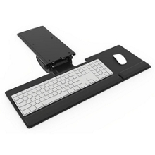 Keyboard Tray With Arm for Shallow Work Surfaces, 82340