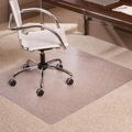 "Low Pile Chair Mat 46""W x 60""D for Carpet Floors, 54389"