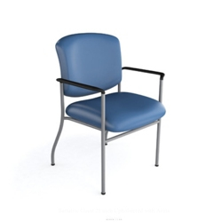 Bariatric Polyurethane Guest Chair with 350 lb Weight Capacity, 21241