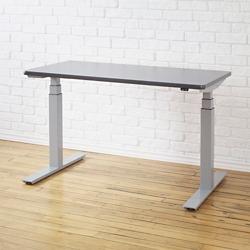 "Height-Adjustable Desk - 60""W x 30""D, 41941"